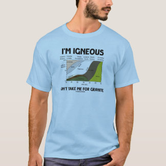 I'm Igneous Don't Take Me For Granite T-Shirt