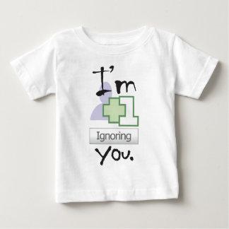 I'm Ignoring You Baby T-Shirt