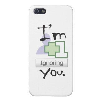 I'm Ignoring You iPhone 4 icase iPhone 5 Case