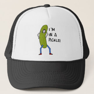 I'm in a pickle trucker hat