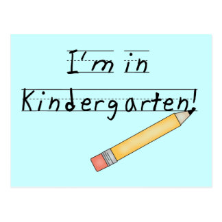 I'm in Kindergarten Tshirts and Gifts Postcard