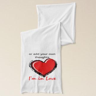 I'm in Love Scarf