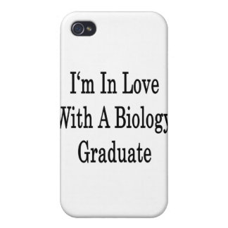 I'm In Love With A Biology Graduate iPhone 4/4S Case