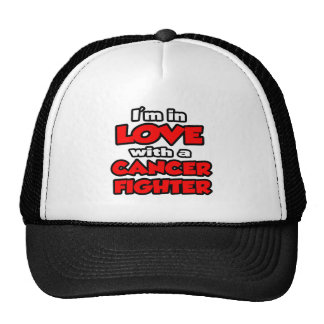 I'm In Love With A Cancer Fighter Mesh Hat