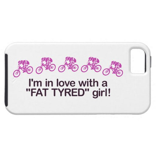 I'm in love with a fat tyred girl iPhone 5/5S covers