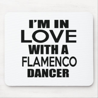 I'M IN LOVE WITH FLAMENCO FIGHTER MOUSE PAD
