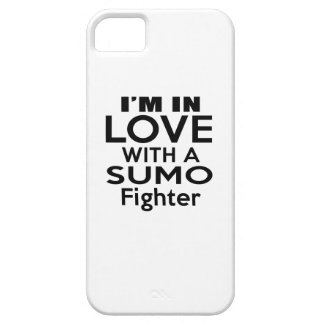 I'M IN LOVE WITH SUMO FIGHTER iPhone 5 COVER