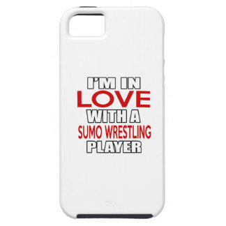 I'm in love with SUMO WRESTLING Player iPhone 5 Case