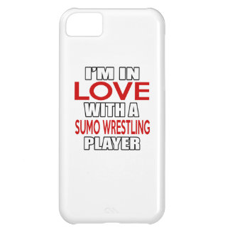 I'm in love with SUMO WRESTLING Player iPhone 5C Case