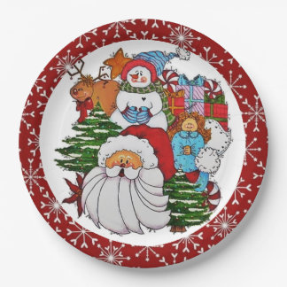 I'm in the Holiday Spirit Paper Plate