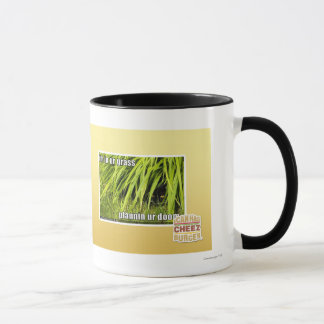 im in ur grass mug