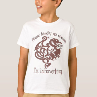 I'm introverting. T-Shirt