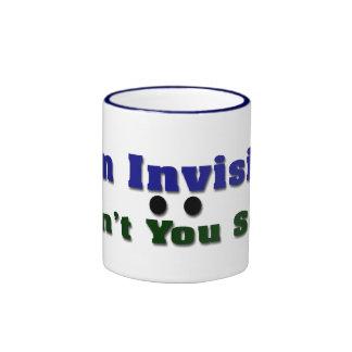 I'm Invisible Ringer Mug