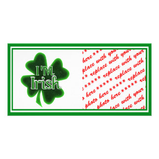 I'm Irish! Photo Greeting Card