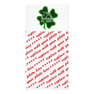 I'm Irish! Picture Card