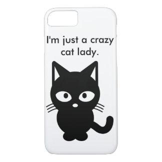I'm Just a Crazy Cat Lady iPhone 7 Case