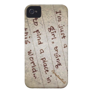 I'm Just a Girl Case-Mate iPhone 4 Cases