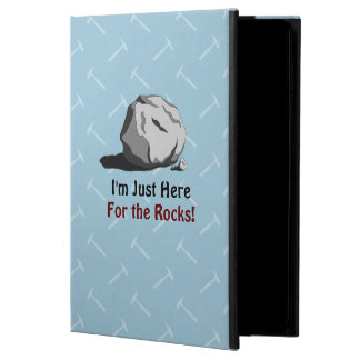I'm Just Here For The Rocks! Powis iPad Air 2 Case