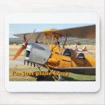 I'm just plane crazy: Tiger Moth mousepad