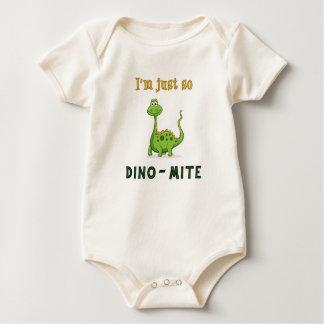 I'm Just So Dino-Mite! Infant Crawler Bodysuits