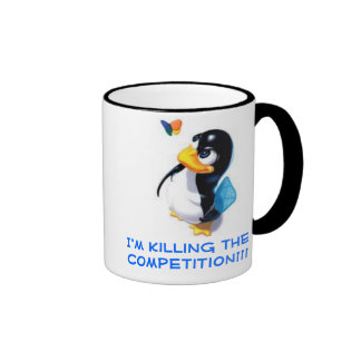 I'm Killing the competition Coffee Mugs