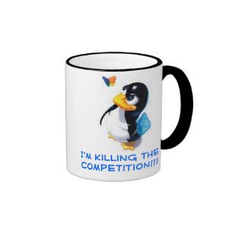 I'm Killing the competition Ringer Mug
