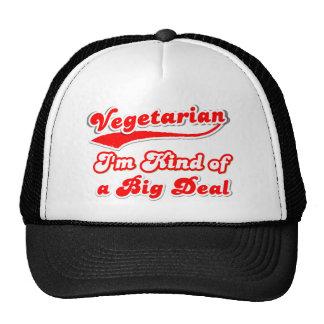 I'm Kind of a Big Deal VEGETARIAN Mesh Hats