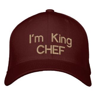 I'm King CHEF!_Custom Baseball C Embroidered Baseball Caps