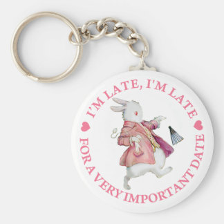 I'M LATE, I'M LATE KEY RING