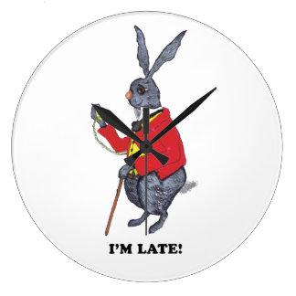 I'M LATE! LARGE CLOCK