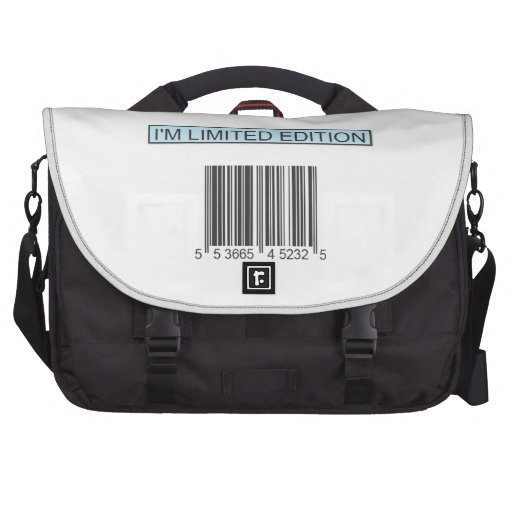 I'm Limited Edition Barcode Laptop Bag