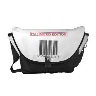 I'm Limited Edition Barcode Messenger Bag