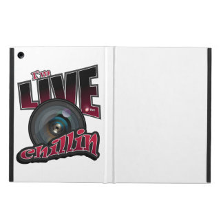 I'm LIVE Chillin: Social Video Streaming Cover For iPad Air