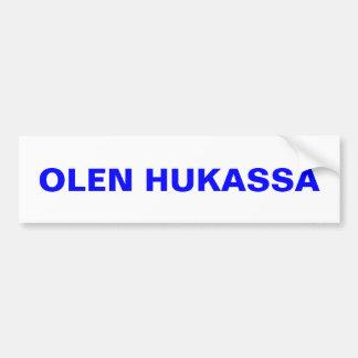 I'm Lost ~ Bumper Sticker Upper Peninsula Finland