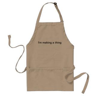 """I'm making a thing"" Apron"