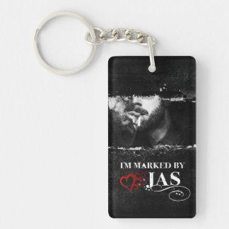I'm Marked Keychain: Jas Key Ring