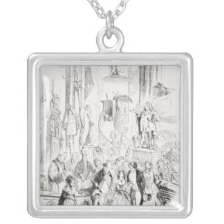 I'm Married Silver Plated Necklace
