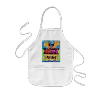 I'm Mommy's Favorite Artist Kids Apron
