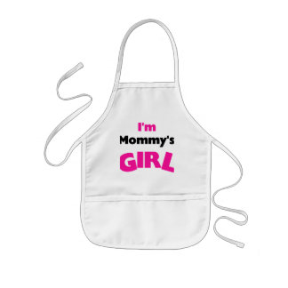 I'm Mommy's Girl T-shirts and Gifts Kids Apron