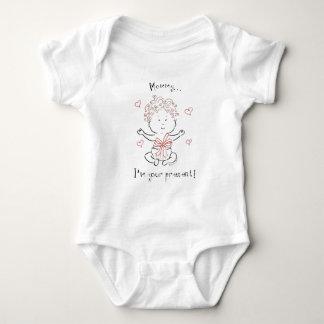 I'm Mommy's present Baby Bodysuit