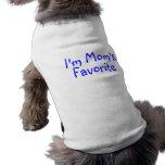 Im Moms Favourite Sleeveless Dog Shirt