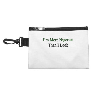 I'm More Nigerian Than I Look. Accessory Bags