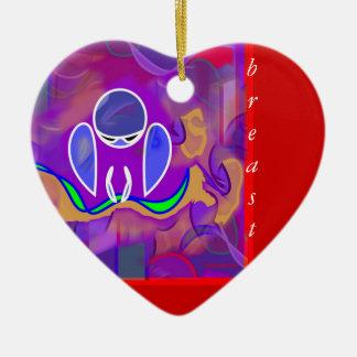 IM Morning Breast/Free Ornament