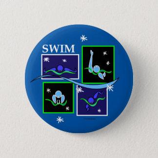 IM Morning Winter 6 Cm Round Badge