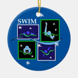IM Morning Winter Christmas Ornament
