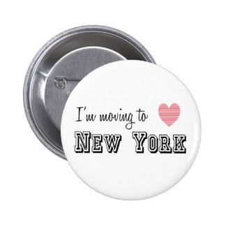 I'm Moving To New York Pin