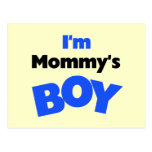 I'm Mummy's Boy T-shirts and Gifts Postcards