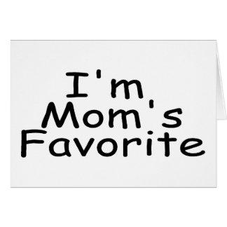 I'm Mum's Favourite Greeting Card