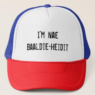 'I'm nae baaldie-heidit' Cap