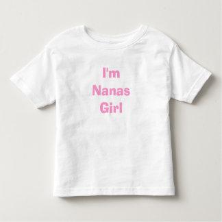 I'm Nanas Girl Toddler T-Shirt